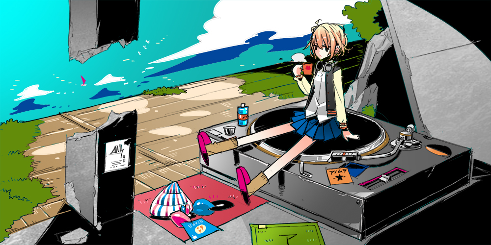 Club Noon Cover © 2014 たじまっくす (但馬亮平)