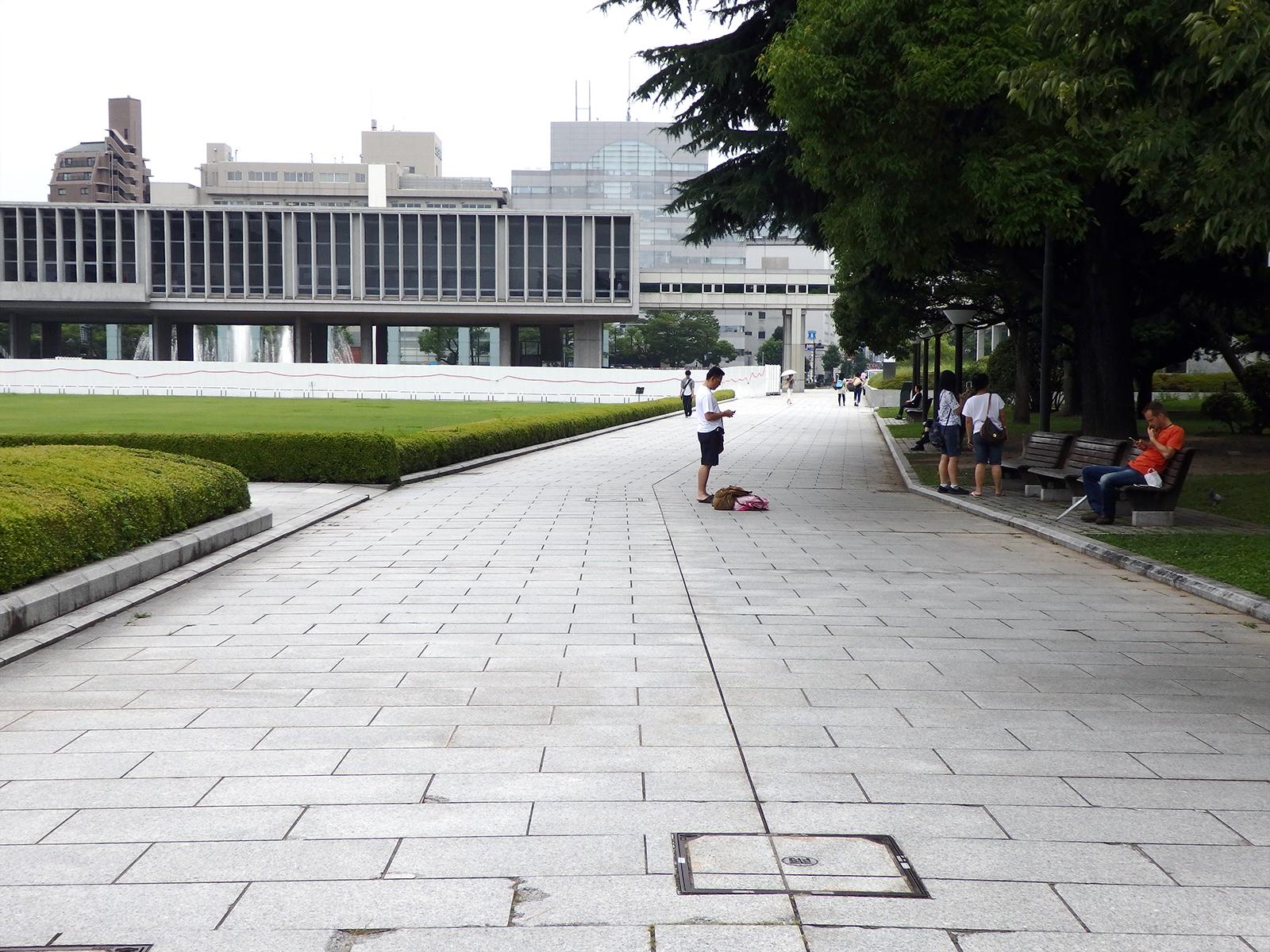 広島平和記念資料館。