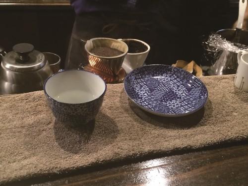 九谷焼のカップ&ソーサ―