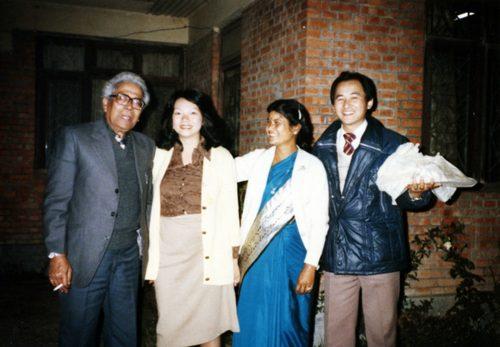 JICAネパール協力隊事務所で