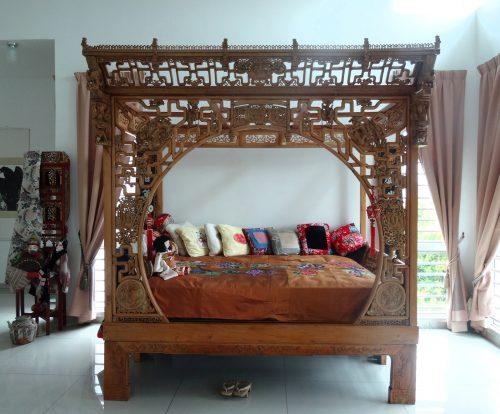 清朝皇室用の寝台
