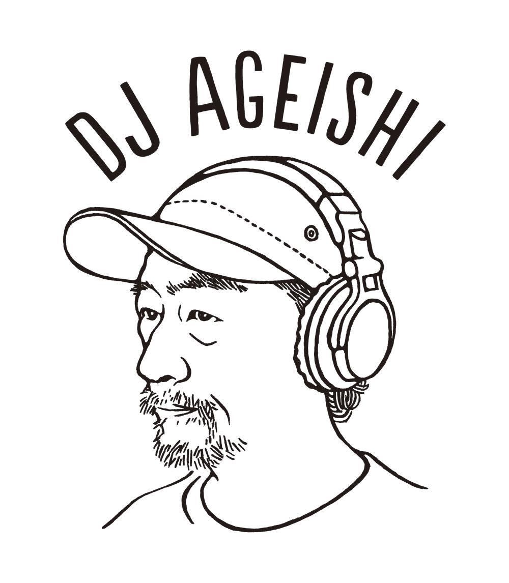 DJ AGEISHIさんロゴ